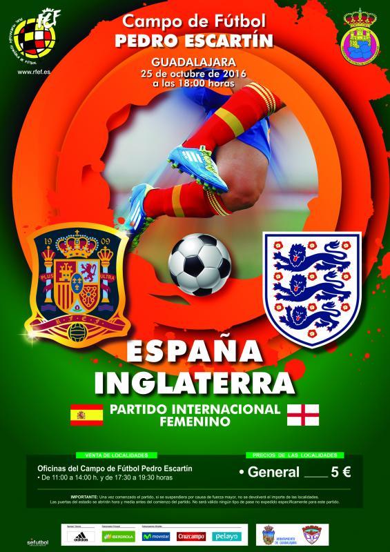 Tres Punto Uno elegido por el Ayuntamiento de Guadalajara para llevar la seguridad del partido de Fútbol Internacional Femenino España – Inglaterra