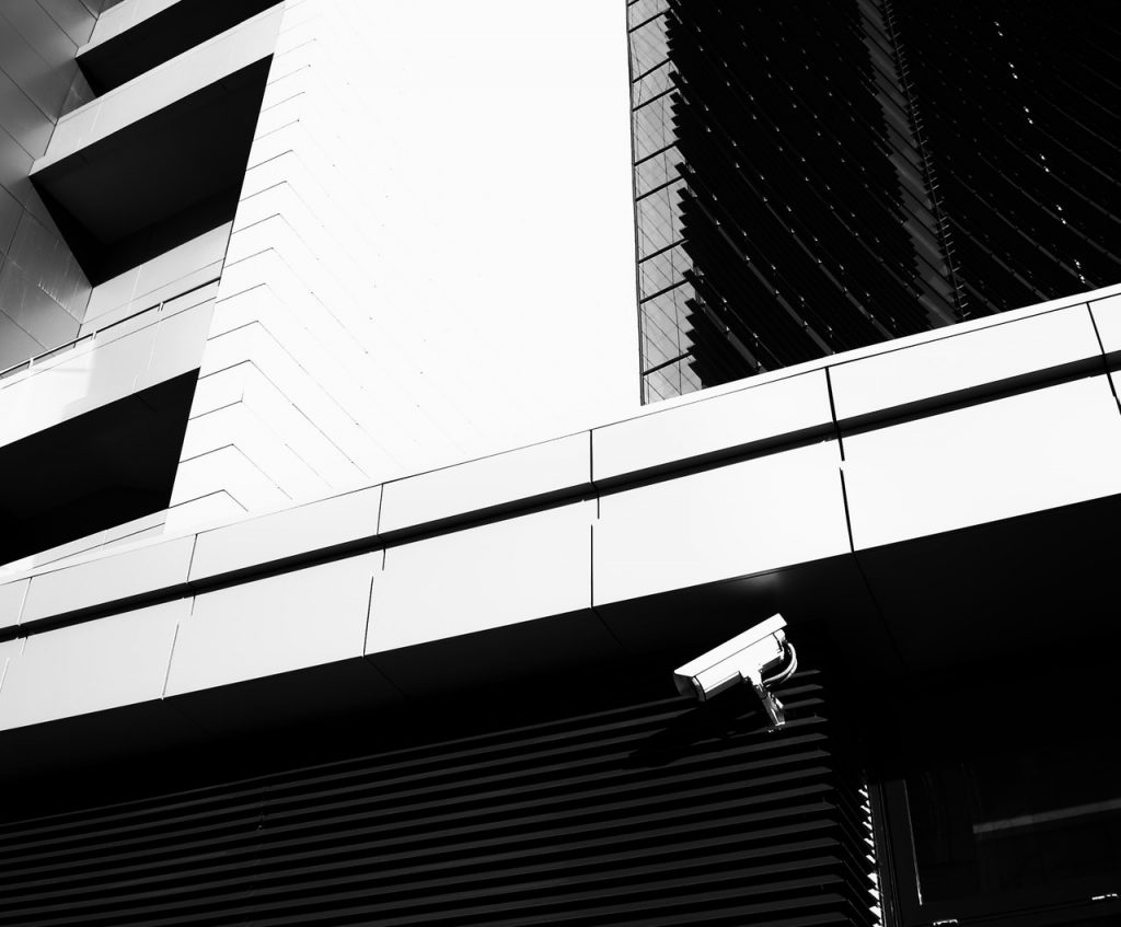black-and-white-building-camera-558630